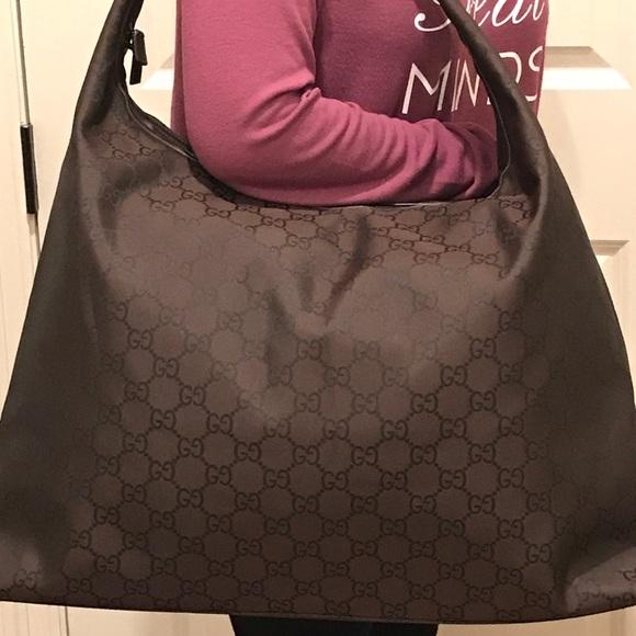 2b157a03d6efea Gucci Bags | 100 Auth Nwt Brown Jacquard Gg Travel Bag | Poshmark